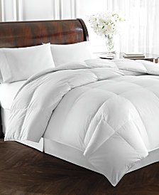 Lauren Ralph Lauren Heavyweight White Goose Down Comforters, 500 Thread Count 100% Cotton Cover