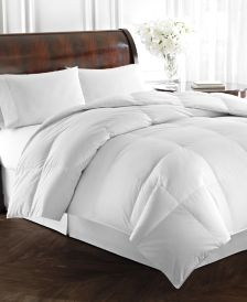 Heavyweight White Goose Down Full/Queen Comforter, 500 Thread Count 100% Cotton Cover