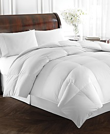 Lauren Ralph Lauren Heavyweight White Goose Down Full/Queen Comforter, 500 Thread Count 100% Cotton Cover