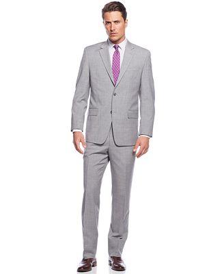 MICHAEL Michael Kors Light Grey Suit - Suits & Suit Separates ...