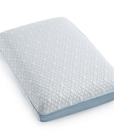 SensorGel Advanced iCOOL Gusset Standard Pillow, Hypoallergenic Gel Memory Foam