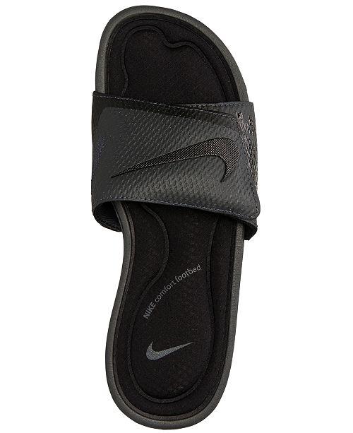 66f491e07094 ... Nike Men s Solarsoft Comfort Slide Sandals from Finish Line ...