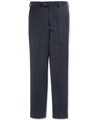 Image of Lauren Ralph Lauren Boys' Solid Navy Suiting Pants