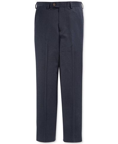 Lauren Ralph Lauren Boys' Husky Solid Navy Suiting Pants