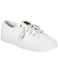 Sperry Women's Seacoast Leather Sneakers