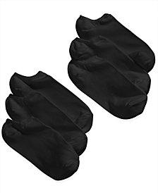 HUE® Women's Microfiber Liner Socks 6 Pack