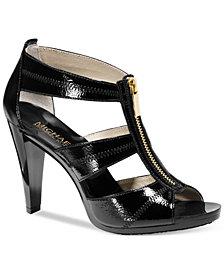 MICHAEL Michael Kors Wide Width Berkley T-Strap Sandals