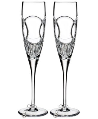 Love Wedding Vows Flute Pair