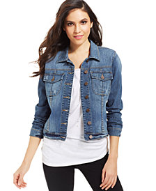 Kut from the Kloth Petite Amelia Stretch Denim Jacket