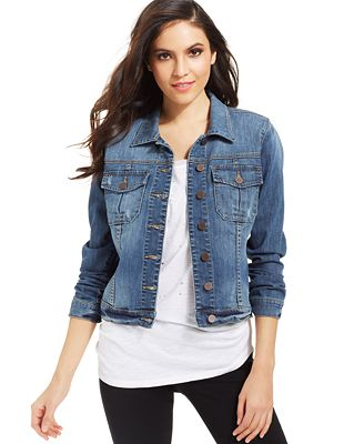 Kut From The Kloth Amelia Denim Jacket Jackets Women Macy S
