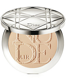Dior Diorskin Nude Air Powder Healthy Glow Invisible Powder with Kabuki Brush