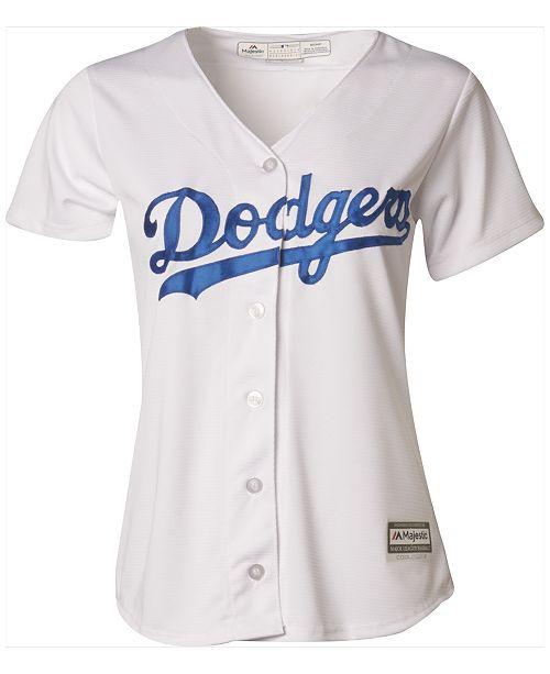 Majestic Women s Los Angeles Dodgers Cool Base Jersey - Sports Fan ... e038e76f572