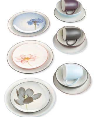 noritake dinnerware colorwave floral accent plate - Noritake Colorwave
