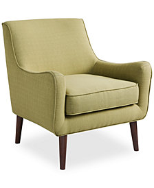 Dylan Fabric Accent Chair, Quick Ship