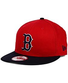 Boston Red Sox 2-Tone Link 9FIFTY Snapback Cap