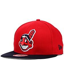 New Era Cleveland Indians 2-Tone Link 9FIFTY Snapback Cap