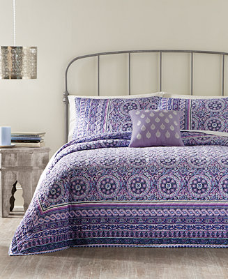Jessica Simpson Mosaic Border Quilt Quilts Amp Bedspreads