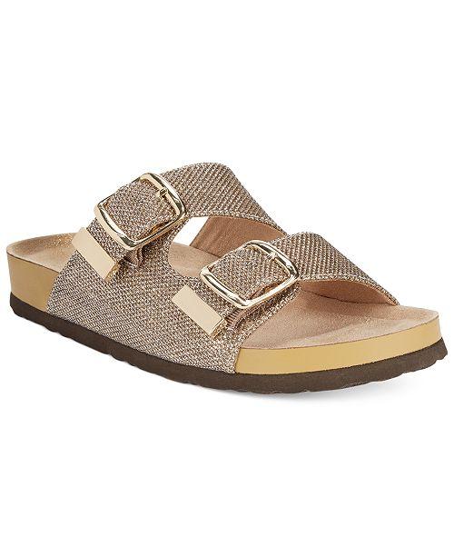 White Mountain Horizon Footbed Sandals