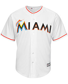 Majestic Men's Miami Marlins Replica Jersey