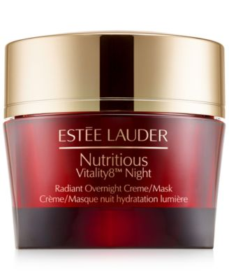 Nutritious Vitality8 Radiant Overnight Crème/Mask, 1.7 oz.