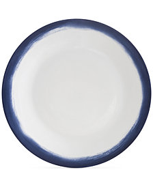Vera Wang Wedgwood Simplicity Indigo Ombre Dinner Plate