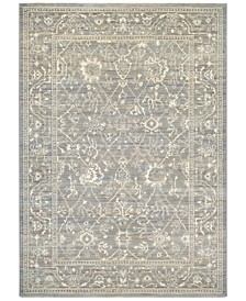 McKinley Persian Arabesque Charcoal-Ivory  Area Rugs