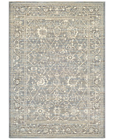 "Couristan McKinley Persian Arabesque Charcoal-Ivory 5'3"" x 7'6""  Area Rug"