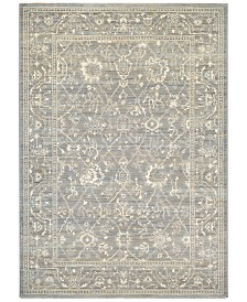 """Couristan McKinley Persian Arabesque Charcoal-Ivory 5'3"""" x 7'6""""  Area Rug"""