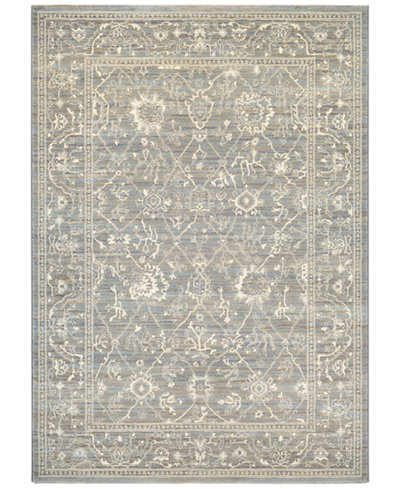 Couristan McKinley Persian Arabesque Charcoal-Ivory 3'11