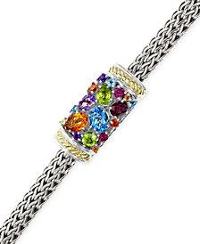 EFFY Multistone Bracelet in Sterling Silver and 18k Gold (3-1/4 ct. t.w.)