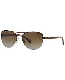 Ralph Polarized Sunglasses, RA4113 56P
