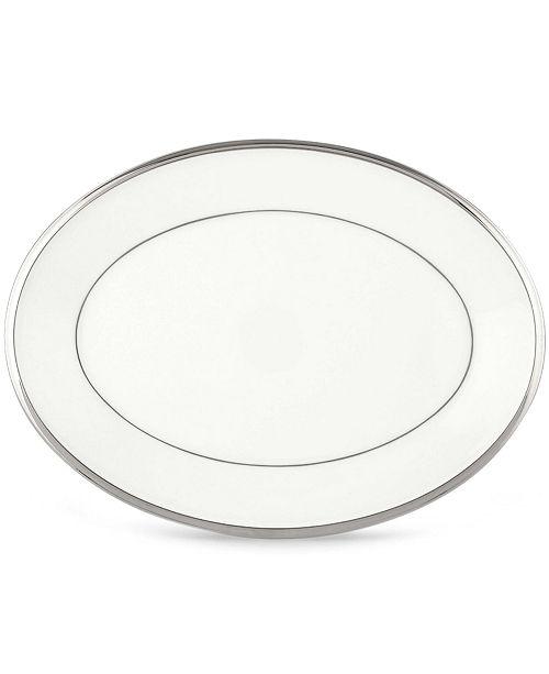 Lenox Solitaire White Oval Platter