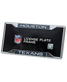 Stockdale Houston Texans Carbon License Plate Frame