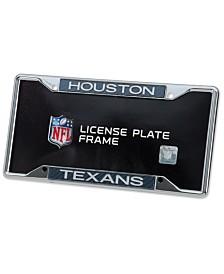 Stockdale Houston Texans Carbon License Plate Frame