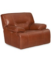 Leather Accent Chairs And Recliners Macy S