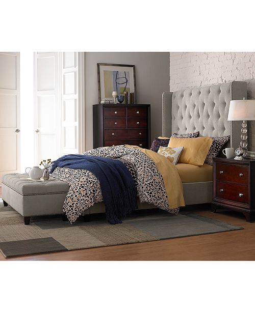 Furniture Rosalind Storage Ottoman Bench Amp Reviews
