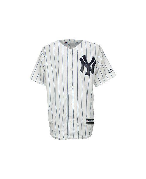 Majestic Kids' New York Yankees Replica Jersey, Big Boys (8-20)