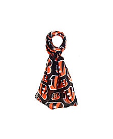 Forever Collectibles Cincinanti Bengals All Over Logo Infinity Scarf
