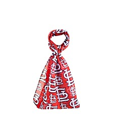St. Louis Cardinals All Over Logo Infinity Scarf