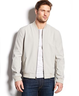 Levi's Softshell Varsity Bomber Jacket - Coats & Jackets - Men ...
