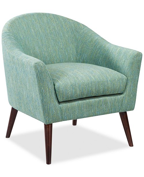 Madison Park Darwin Fabric Accent Chair, Quick Ship