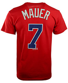 Majestic Men's Joe Mauer Minnesota Twins Player T-Shirt