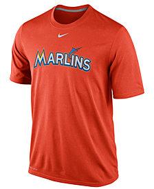 Nike Men's Miami Marlins Legend Wordmark T-Shirt