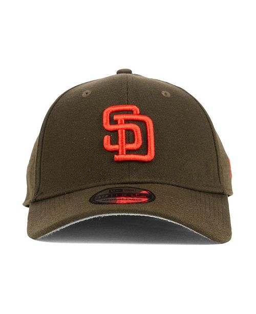 timeless design 6f746 e48ee ... New Era San Diego Padres Core Classic 39THIRTY Cap ...