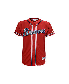 MajesticAtlanta Braves Replica Jersey, Big Boys (8-20)