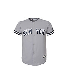 MajesticNew York Yankees Replica Jersey, Big Boys (8-20)