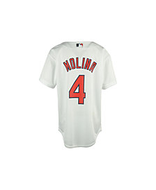 Majestic Yadier Molina St. Louis Cardinals Replica Jersey, Big Boys (8-20)