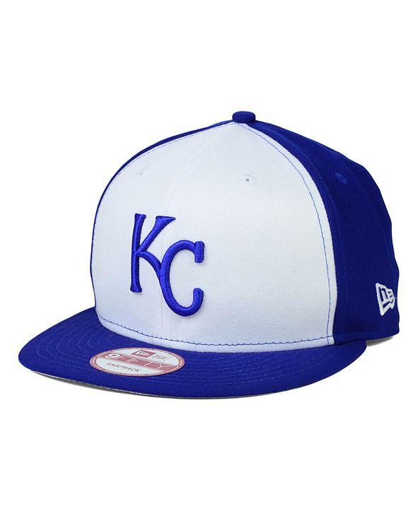 New Era Kansas City Royals 2 Tone Link 9FIFTY Snapback Cap