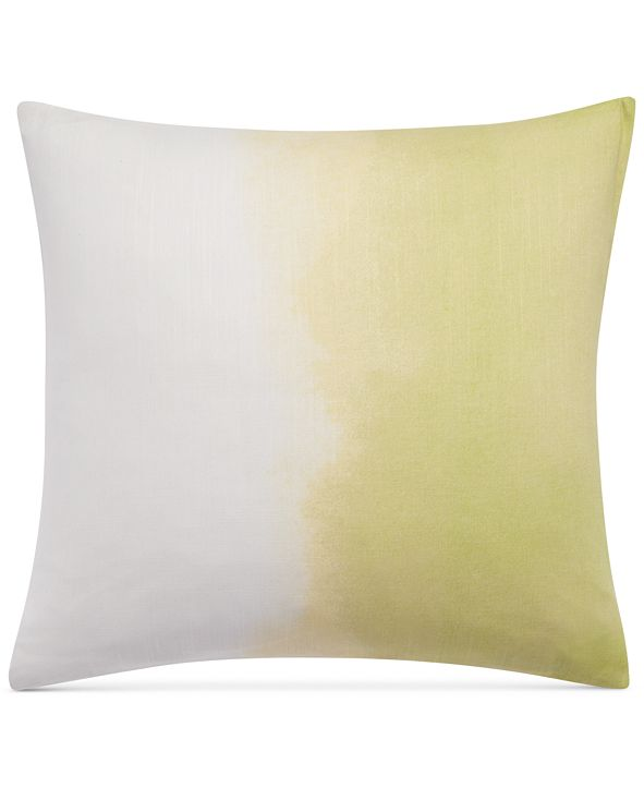 """bluebellgray Paint Box Ombre Printed 18"""" Square Decorative Pillow"""