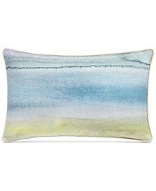 """bluebellgray Morar Watercolor Print 15"""" x 24"""" Decorative Pillow"""